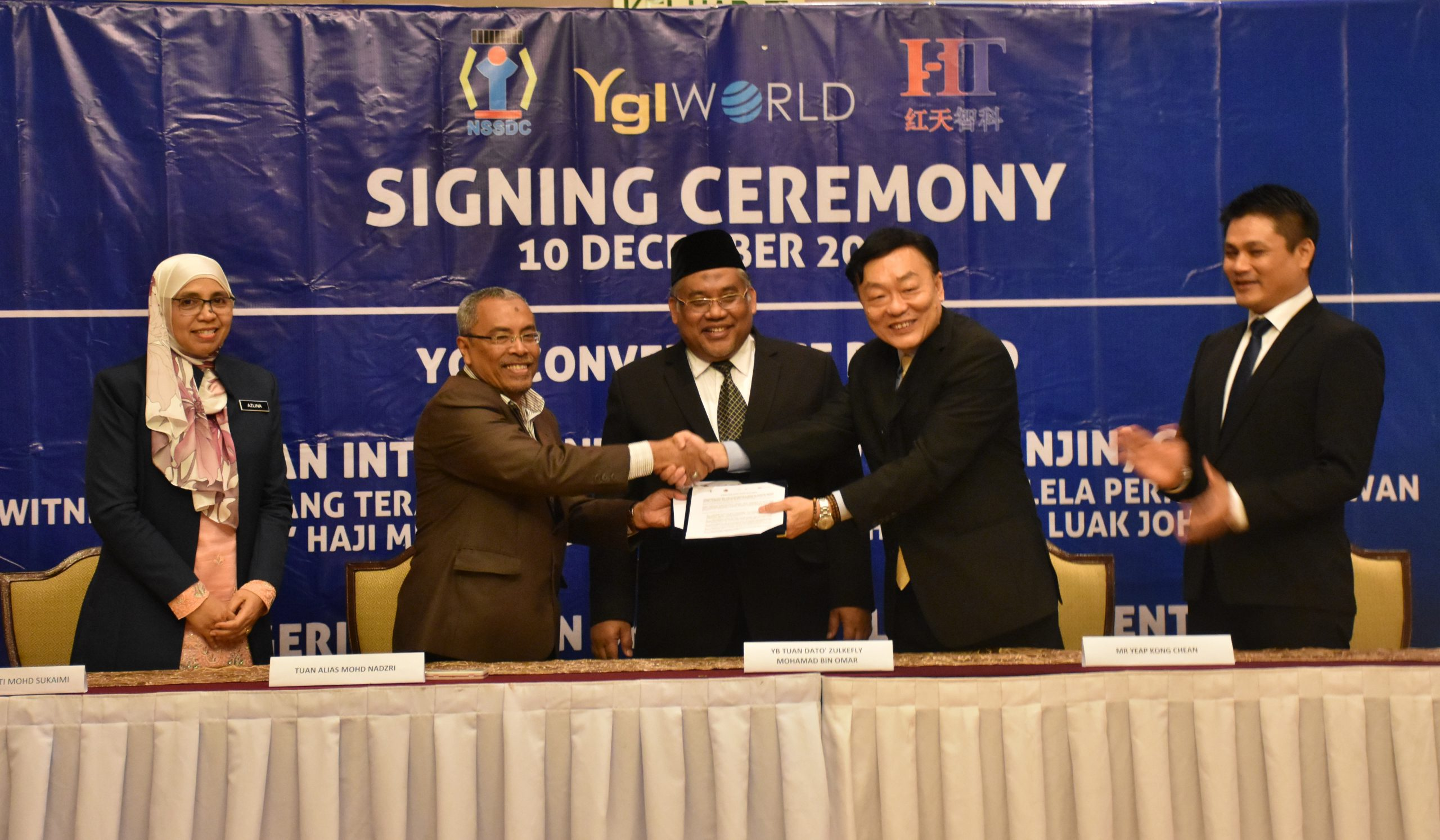 "YGL CONVERGENCE BERHAD (""YGL"" OR ""COMPANY"") – COLLABORATION ARRANGEMENT BETWEEN YGL AND NEGERI SEMBILAN SKILLS DEVELOPMENT CENTRE (""NSSDC"") AS PEMBEKAL UTAMA OF INDUSTRY 4.0 SOFTWARE UNDER NSSDC'S GROUP OF  ENTREPRENEURS"