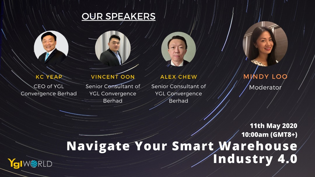 Webinar – Navigate Your Smart Warehouse Industry 4.0