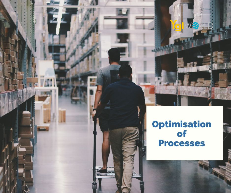 Smart Warehouse Industry 4.0 – from manual to hi-tech