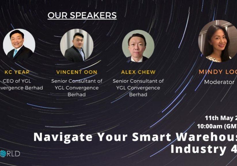 Webinar - Navigate Your Smart Warehouse Industry 4.0
