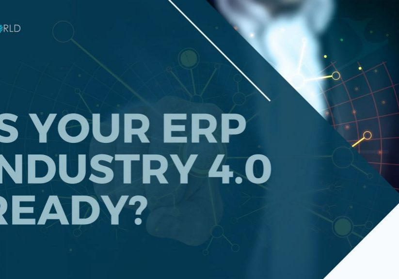 YglWorld ERP Industrty 4.0 is able to integrate machines to ERP.